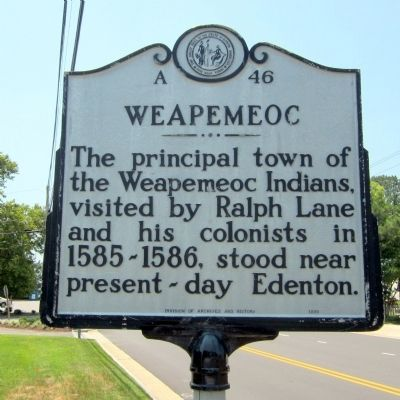 Weapemeoc Marker image. Click for full size.