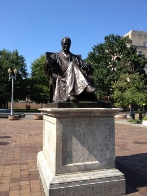 Chief Justice John Marshall Statue Photo, Click for full size