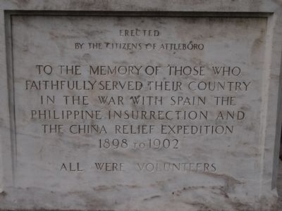 Spanish American War Memorial Marker image. Click for full size.