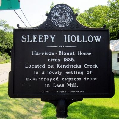 Sleepy Hollow Marker Photo, Click for full size