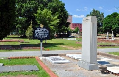 Brigadier General Henry Lewis Benning Marker and His Grave Photo, Click for full size