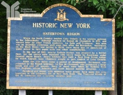 Watertown Region Marker image. Click for full size.