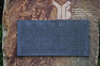 The Big Mill Marker image. Click for full size.