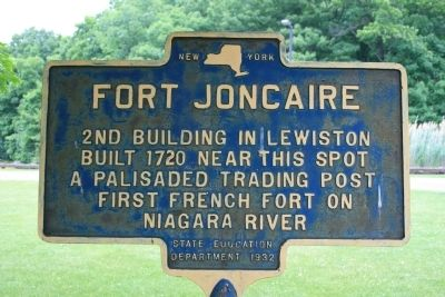 Fort Joncaire Marker image. Click for full size.
