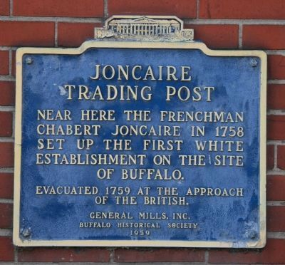 Joncaire Trading Post Marker image. Click for full size.