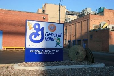 General Mills Sign image. Click for full size.
