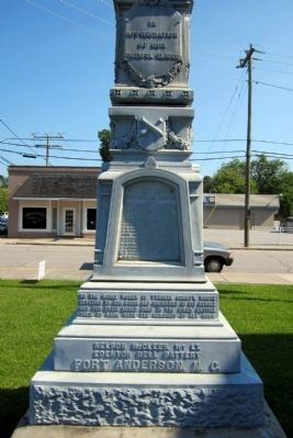 Tyrrell County Confederate Monument (side 3) image. Click for full size.