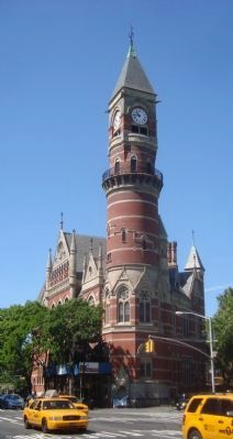 Jefferson Market Courthouse image. Click for full size.
