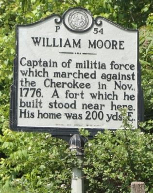 William Moore Marker image. Click for full size.