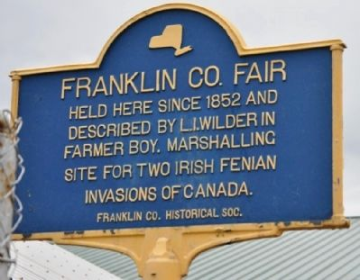 Franklin Co. Fair Marker image. Click for full size.
