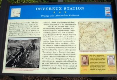 Devereux Station Marker image. Click for full size.