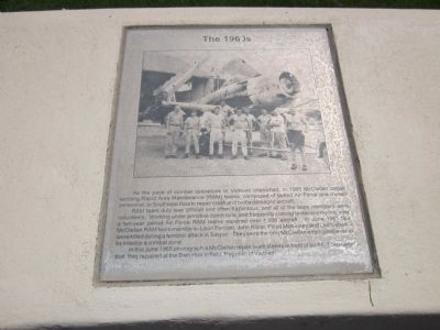 McClellan Air Force Base Marker - Panel 4b - The 1960's Photo, Click for full size