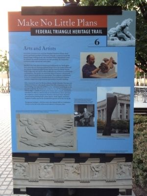 Arts and Artists Marker Photo, Click for full size