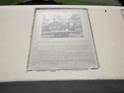 McClellan Air Force Base Marker - Panel 7a - The 1990's Photo, Click for full size