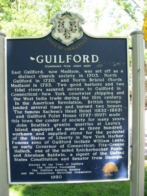 Guilford Marker Photo, Click for full size
