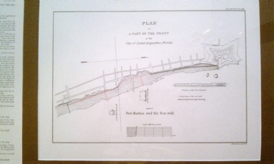St. Augustine Sea Wall Design Photo, Click for full size