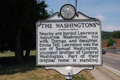The Washingtons Marker image. Click for full size.