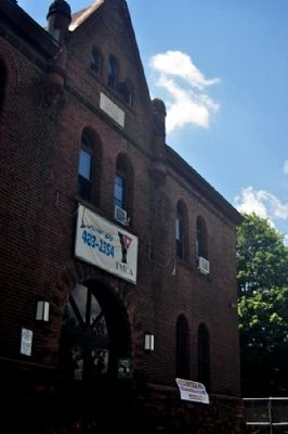 The Armory building as it is today: a YMCA image. Click for full size.