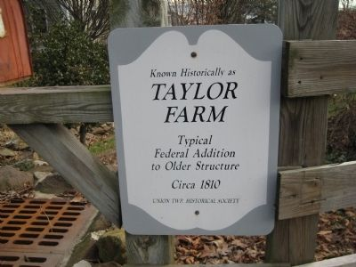 Taylor Farm Marker image. Click for full size.
