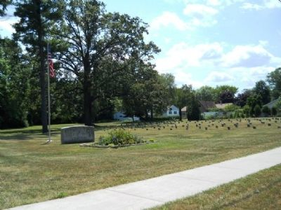 County Hospital Cemetery Marker Photo, Click for full size