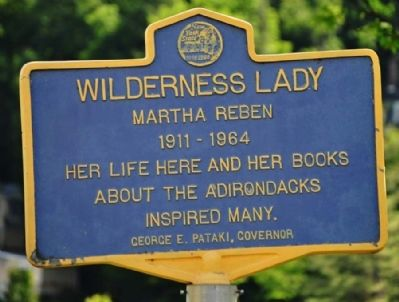 Wilderness Lady Marker image. Click for full size.
