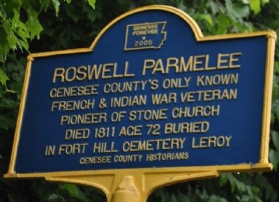 Roswell Parmelee Marker image. Click for full size.