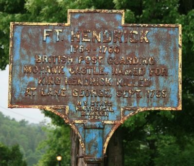 Fort Hendrick Marker image. Click for full size.