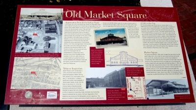 Old Market Square Marker image. Click for full size.