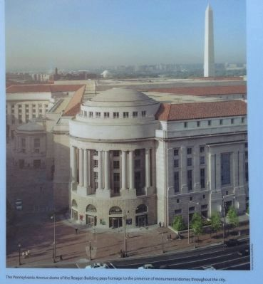Pennsylvania Avenue Dome Photo, Click for full size