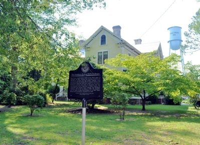 The Eastman-Bishop-Bullock House Marker image. Click for full size.