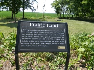 Prairie Land Marker Photo, Click for full size