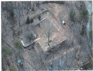 Overhead picture of Redoubt No. 2 Photo, Click for full size