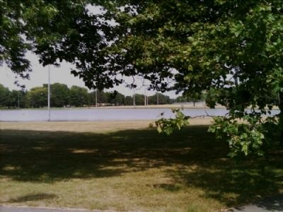 Lake Riley as seen from the Widewaters Field marker image. Click for full size.