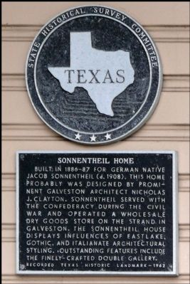 Sonnentheil Home Marker image. Click for full size.