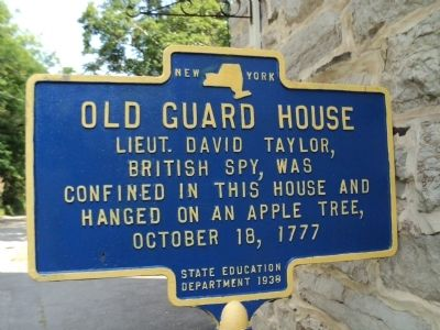 Old Guard House Marker Photo, Click for full size