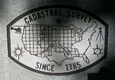 Survey Logo on Bandy - Wilson Marker Photo, Click for full size