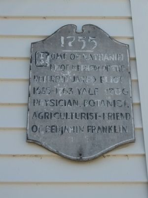 Nathaniel Elliot Home Marker Photo, Click for full size