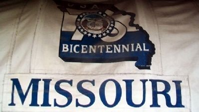 Missouri Bicentennial Wagon Cover image. Click for full size.