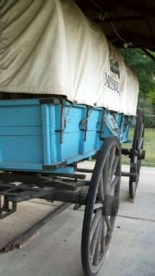 Missouri Bicentennial Wagon Photo, Click for full size