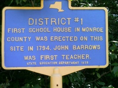 District #1 Marker image. Click for full size.