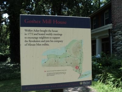 Gomez Mill House Marker image. Click for full size.
