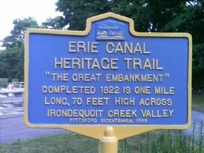 Erie Canal Marker image. Click for full size.