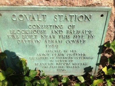Covalt Station Marker image. Click for full size.