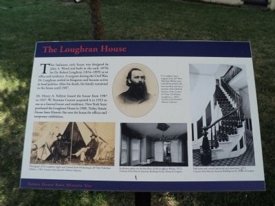 The Loughran House Marker image. Click for full size.