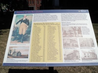 Patriots of the Revolution Marker image. Click for full size.