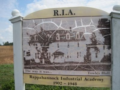 Site of Rappahannock Industrial Academy Marker Photo, Click for full size