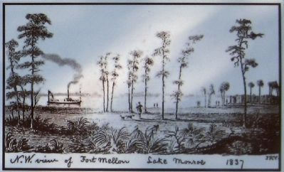 Second Seminole War Marker image. Click for full size.