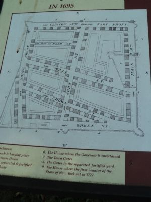 Map of the Stockade Area from Marker Photo, Click for full size