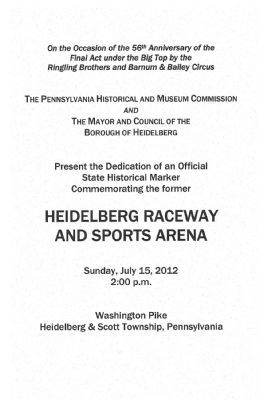 Heidelberg Raceway and Sports Arena Photo, Click for full size