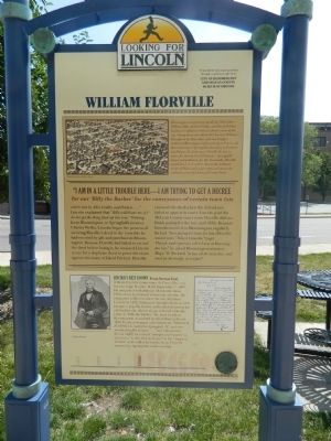 William Florville Marker image. Click for full size.
